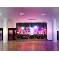 Quality High brightness P6 indoor full color 6mm LED display  with 256 level automatic or manual for sale