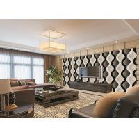 Quality Curve Living Room Bedroom PVC Modern Removable Wallpaper For TV Background for sale