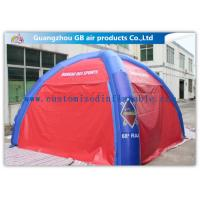 Best ODM Outdoor Dome Inflatable Air Tent Inflatable Military Command Tent With 4 / 6 / 8 / 10 Legs wholesale