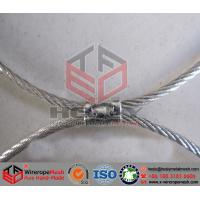 ferruled wire cable fence