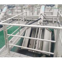 Quality Mechanical Rotary Drum Screen In Industrial Wastewater Treatment 800 - 2000mm Discharge for sale