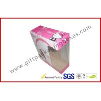 Quality Custom Headphone Corrugated Paper Box , Hello Kitty Colorful Box For Packaging for sale