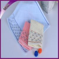 Buy cheap 100% cotton hand towel fabric hankerchief jacquard hand towel from wholesalers