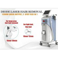 Buy cheap 1200W Soprano Ice Diode Laser Hair Removal Machine 1-10Hz ROHS TUV from wholesalers