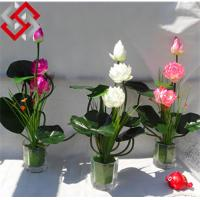 Quality Artificial Floral Silk Flower Lotus for Home Decoration for sale