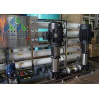 Quality High Output Marine Reverse Osmosis Water Maker Desalination Machine For Boat for sale
