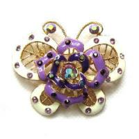Quality Fashion Butterfly-Shaped Jewelry Brooch (BH-035) for sale