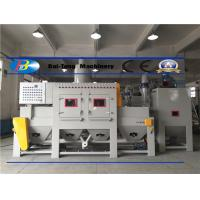 Quality Mobile Phone Shell Automatic Sandblasting Machine Triangle Belt Conveyer Type Safe Operated for sale