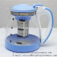 Buy cheap Stocked, Eco-Friendly Feature and Glass tea pot with filter from wholesalers