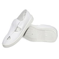 China 4 Holes Mesh Upper Shoes Washable ESD Products on sale