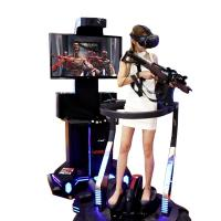 Quality Exclusive Shooting Game Virtual Reality Simulator For Game Zone Customized Color for sale