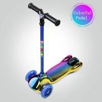 Quality High Quality Toy Skating Scooter For Children Buy Kids Scooters Bike From China/Child Cheap Three Wheels Spray Scooter for sale
