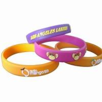 Best Embossed Silicone Wristbands wholesale