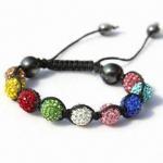 Quality Shambhala Colorful Beaded/String/Ball/Handcraft Gift Bracelet for sale