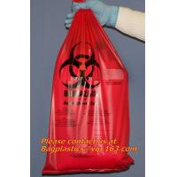 Quality Clinical supplies, biohazard,Specimen bags, autoclavable bags, sacks, Cytotoxic Waste Bags for sale