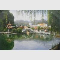 Buy cheap Hand Painted Claude Monet Oil Paintings Chinese Landscape Oil Paintings from wholesalers
