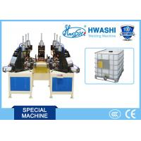 Quality IBC Tank Cage Spot Welding Machine , Pipe Bage Auto Welding Machine for sale