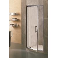China Swing Small Glass Shower Enclosures 6mm Tempered Clear Aluminum Alloy Framed on sale