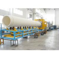 Quality 32-1500mm PVC Double Wall Corrugated Pipe Extrusion Line SBG1000 UPVC Double Wall for sale