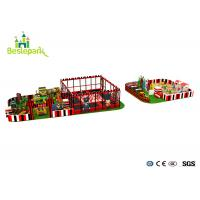 Commercial Centre Kids Indoor Playground Anti - Static Colorful Theme