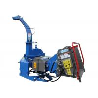 Quality 4 Cutting Knives Tree Shredders Chippers , Hydraulic Pto Wood Chipper for sale