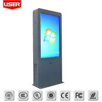 China Infrared IR Touch Outdoor Digital Sign Boards Energy Saving High Resolution on sale