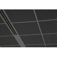 Quality PE Powdercoated Metal Ceiling Tile Grid 100x100MM For Supermarket Decoration for sale