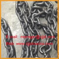 China Enlarge Link Ship Steel Anchor Chain on sale