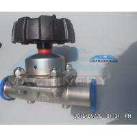 Fully Stocked Sanitary 316L Stainless Steel Manual/ Pneumatic Diaphragm Valve Diaphragm Valve with Drain