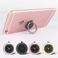 Quality Universal 360 Degree Rotating Cellphone Watch Finger Grip Ring Holder with Magnetic Catch Piece Inside for Cellphone for sale
