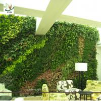 Best UVG GRW030 Green Color Artificial Plants and Flowers for Outdoor Garden wall Grass Walls wholesale