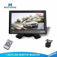 Quality Adjustable Car Dash Monitor HD Rear View Camera And Car Multimedia System for sale
