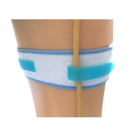 Quality Anti Slip 50cm 20g Urinary Legband Foley Catheter Straps for sale