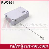Buy Market Purchase Retractable Retail Security Cable With Ring Terminal 7.1x4.5x2.1 at wholesale prices