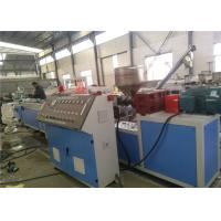 China Twin Screw PVC Plastic Profile Extrusion Line For Window Door Frame on sale