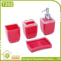 Best Bathroom Supplier Square Shape Useful Hotel Decorative Bath Set wholesale