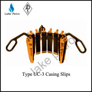 Quality API 7K Type UC-3 Casing Slips for sale