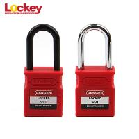 Quality Custom Made 38mm Shackle Lockey Safety Loto Lock Lockout Tagout Padlock for sale