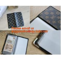 Quality A2/A3/A4/A5 plastisc display book with insert cover 20 pocket for sale