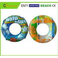 Quality Light Weight Swimming Pool Rings Eco Friendly PVC Material For Kids Playing for sale
