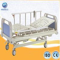 China Hospital Bed A3-4 Three-Function Manual Bed with ABS Head/Foot Board on sale