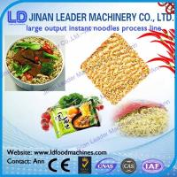 China Instant noodles process line Electric Power Instant Noodle Processing Line on sale