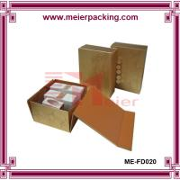 Quality Cosmetic Packaging Face Cream Boxes, New Design Foldable Flat Cosmetic Packaging ME-FD020 for sale
