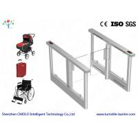 China Half height entrance Speed Gate Turnstile Barrier With Sensor AndLED Light Display on sale