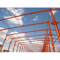Quality prefabricated steel metal buildings light steel frame factory for sale