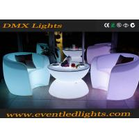 Best Muti-colors changing remote control Light Led Rotational Outdoor Bar LED Tables And Chairs wholesale