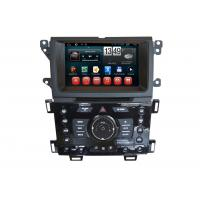 Quality Wifi SWC RDS Car GPS Ford 2014 Edge Navigation 1024 x 600 Rearview Camera Android DVD Player for sale