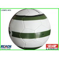 China Indoor Game Official Soccer Balls Size 5 Synthetic Leather Stitched Football For Adult on sale
