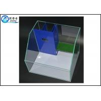 Best Stylish Bent Turtle Terrarium Glass Aquarium Tanks Basking Platform And Filter System wholesale
