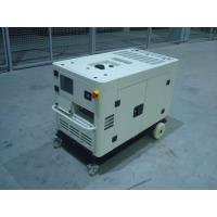 Quality Soundproof 10kva Small Portable Diesel Generator Open Type With Intelligent Panel for sale